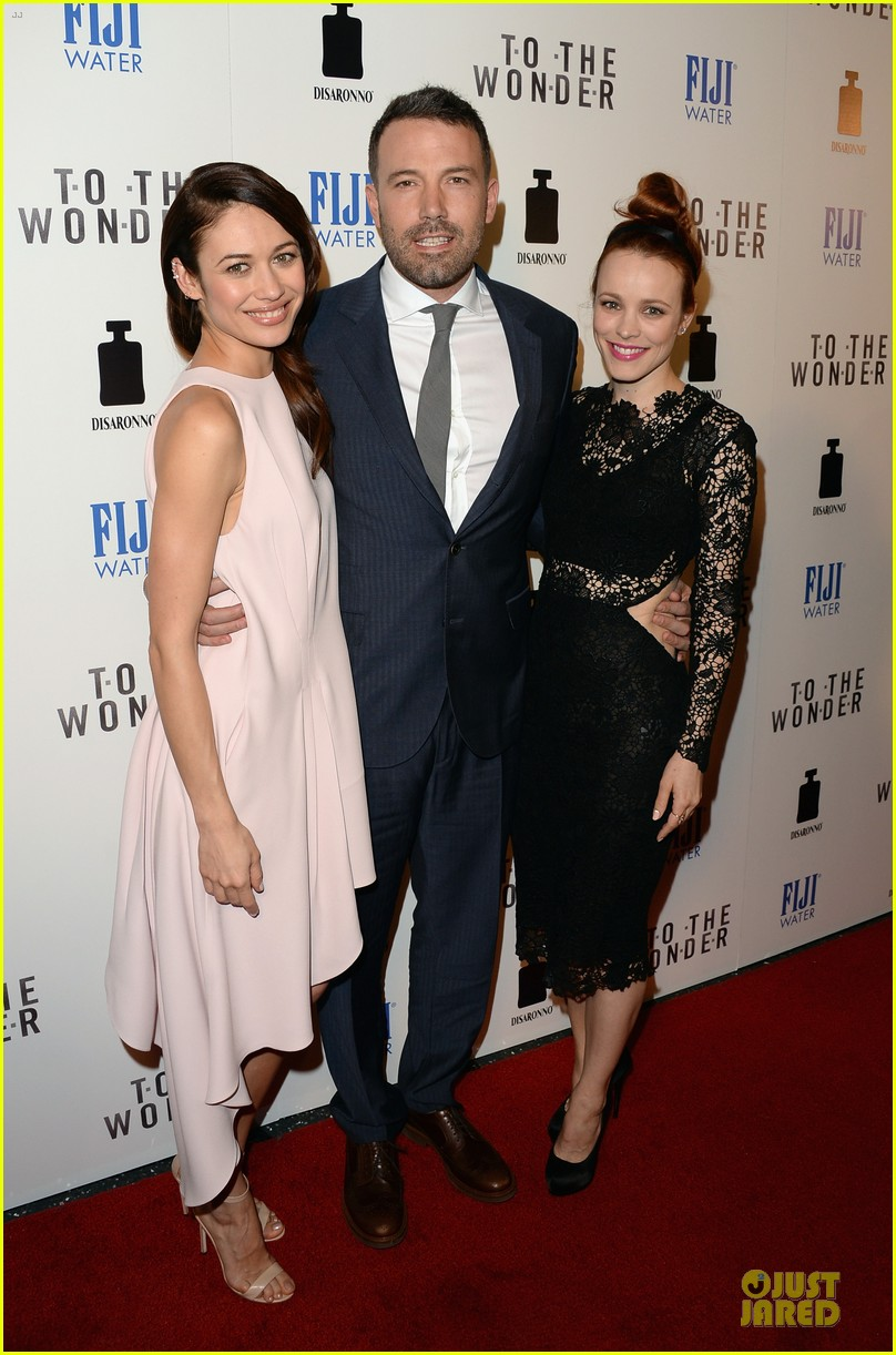rachel mcadams olga kurylenko to the wonder premiere beauties 032846505