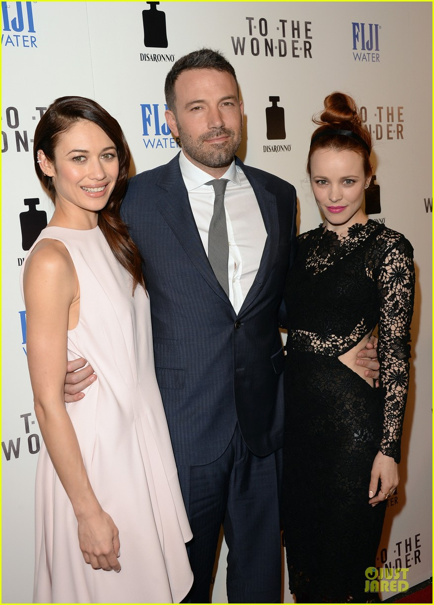 rachel mcadams olga kurylenko to the wonder premiere beauties 12