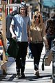 sienna miller tom sturridge west village lunch lovebirds 15