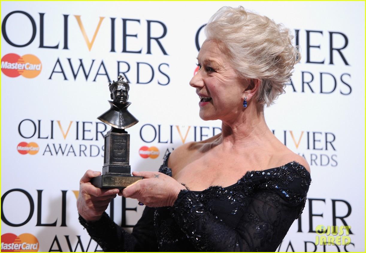 helen mirren damian lewis olivier awards 2013 09