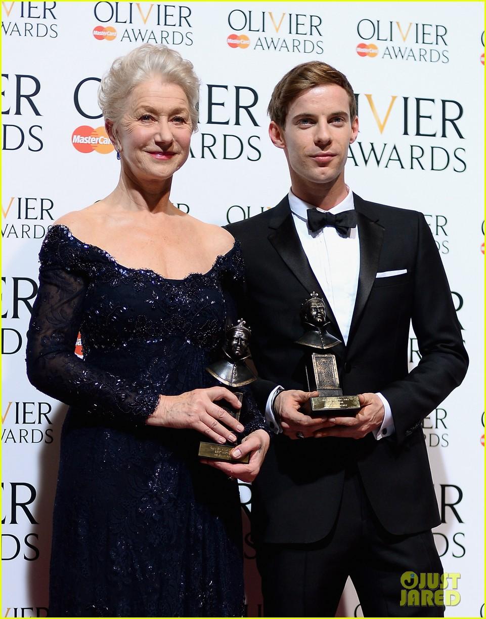 helen mirren damian lewis olivier awards 2013 16