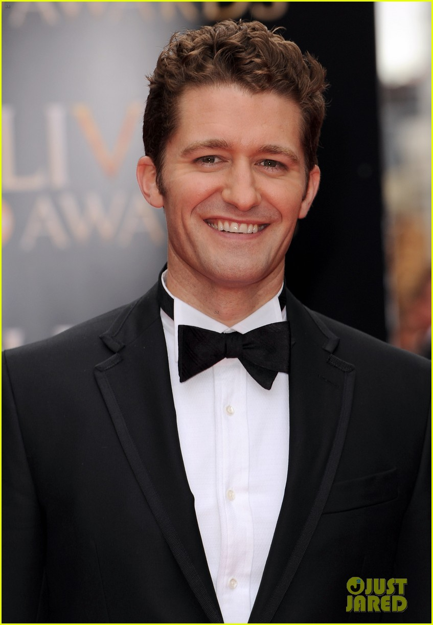 matthew morrison performs west side story at olivier awards 02