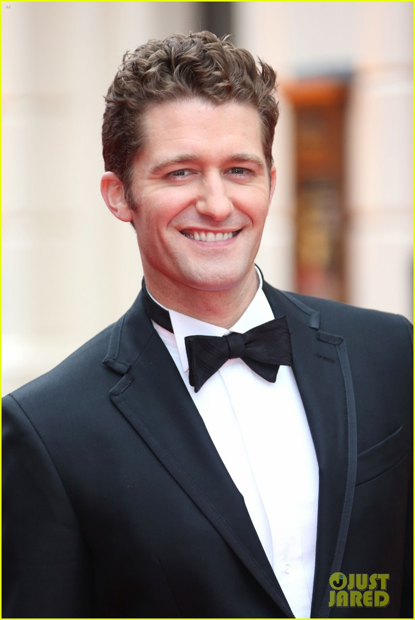matthew morrison performs west side story at olivier awards 19