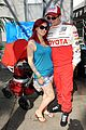nikki reed paul mcdonald toyota pro celebrity race couple 01