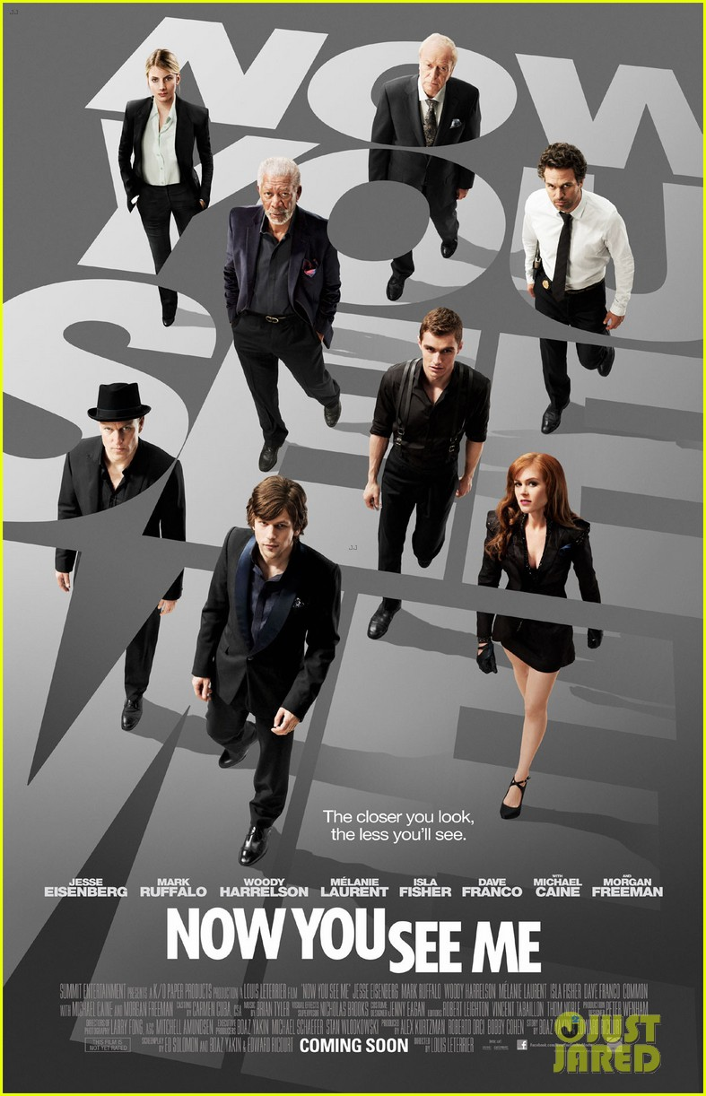 jesse eisenberg dave franco now you see me poster trailer 012847566