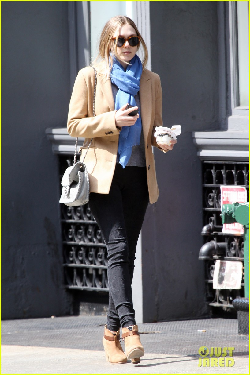 elizabeth ashley olsen separate big apple outings 052851645