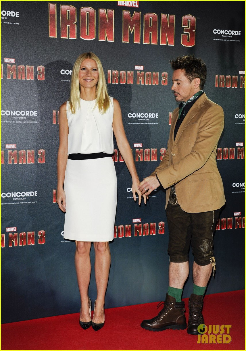 gwyneth paltrow robert downey jr iron man 3 germany photo call 272848171