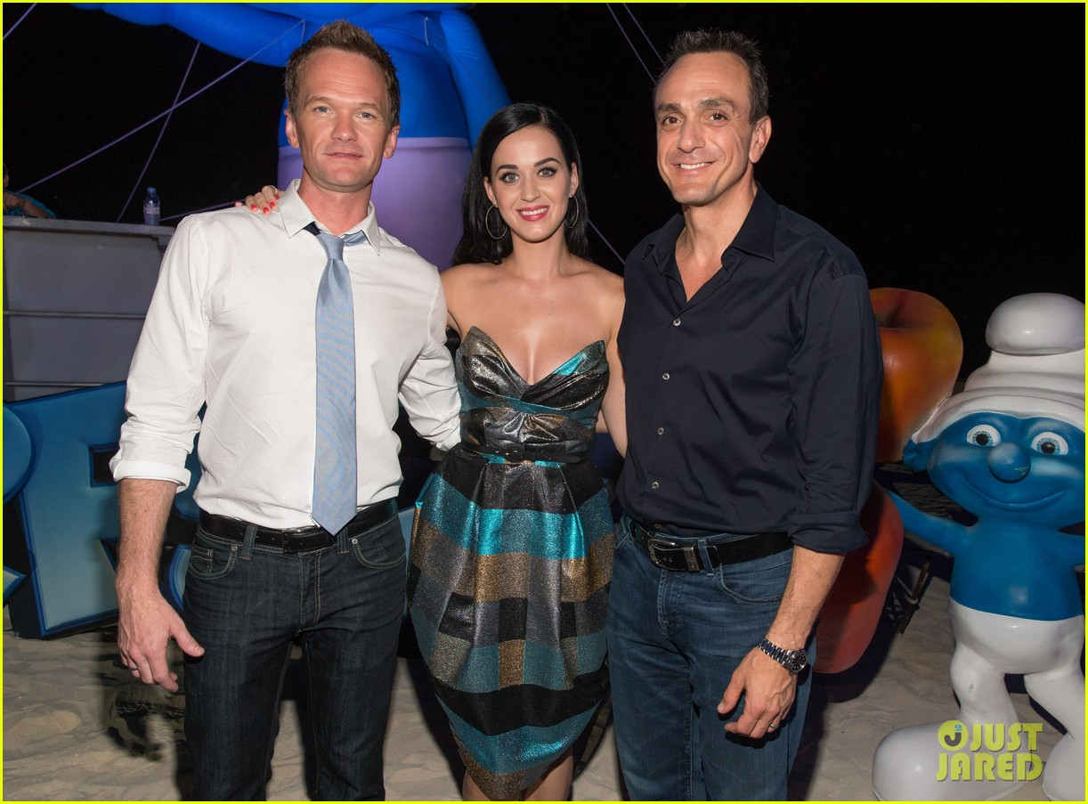 katy perry smurfs 2 summer of sony party 11