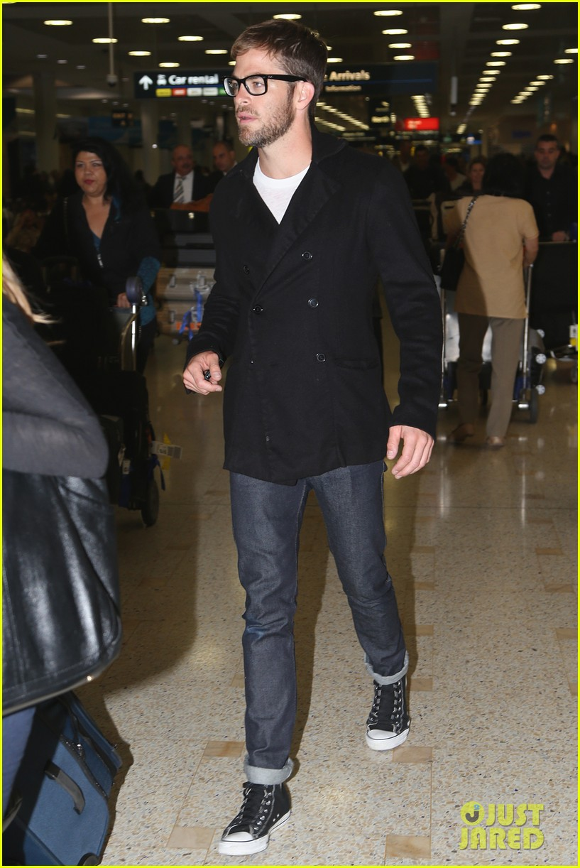 chris pine from los angeles to sydney 10
