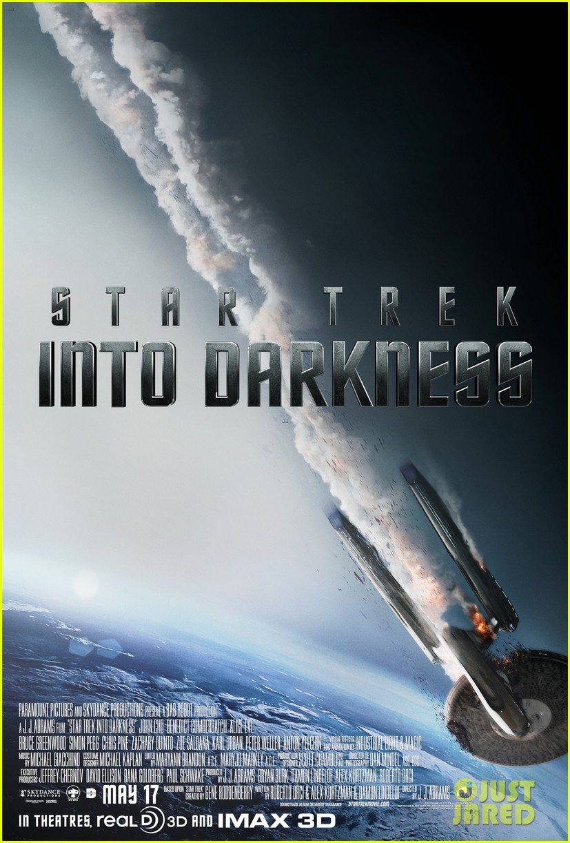 chris pine star trek into darkness trailer posters 03