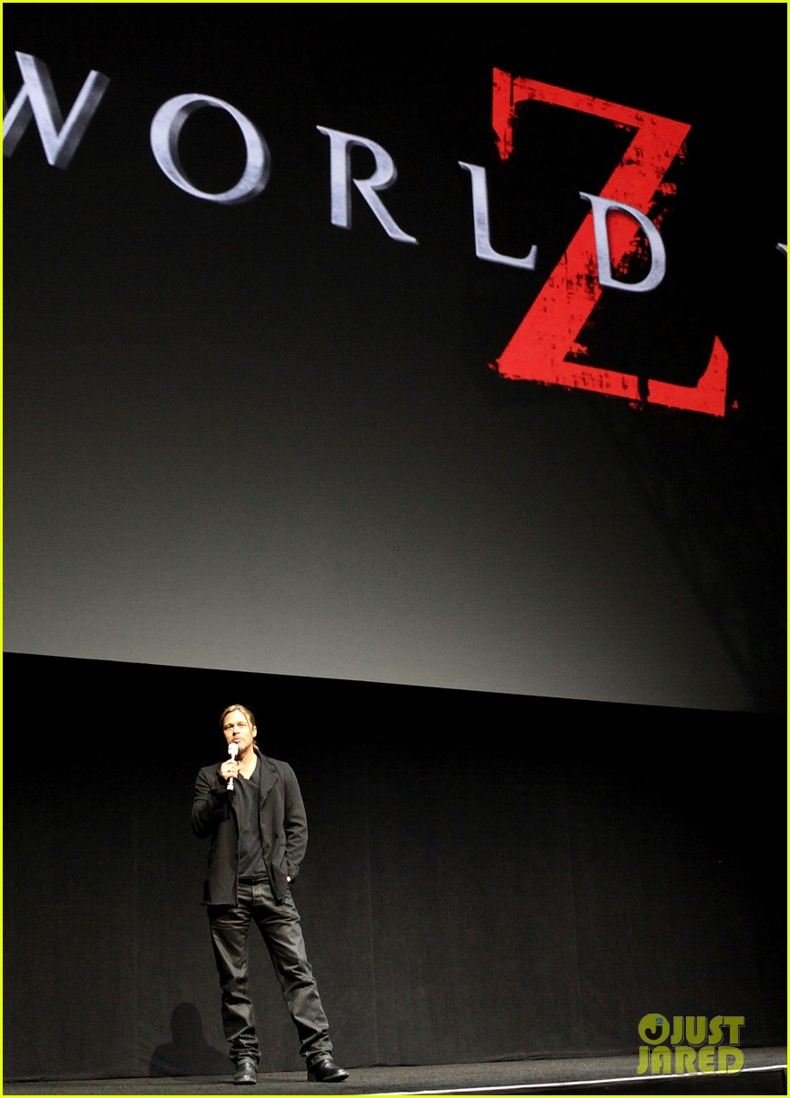 brad pitt cinemacon presentation for world war z 032851124