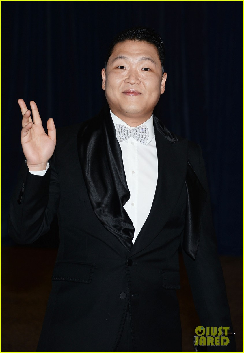 psy white house correspondents dinner 2013 082859556