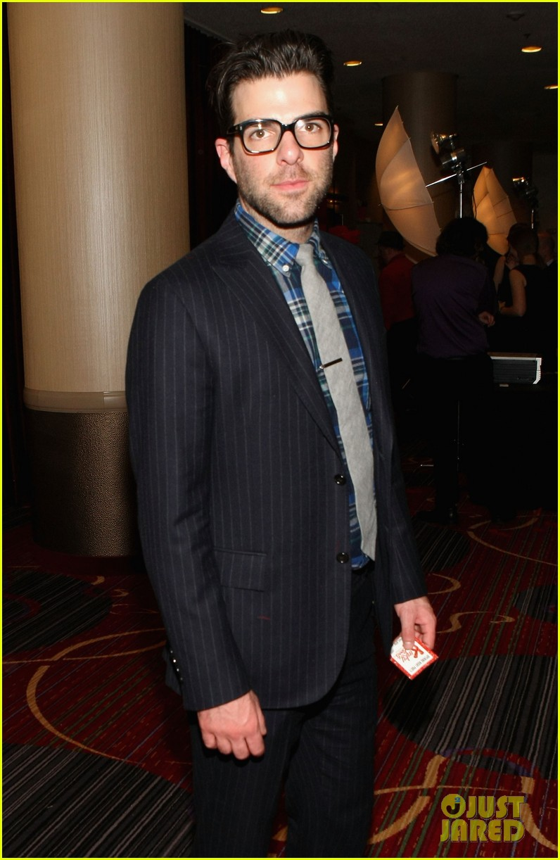 zachary quinto kinky boots broadway opening night 08