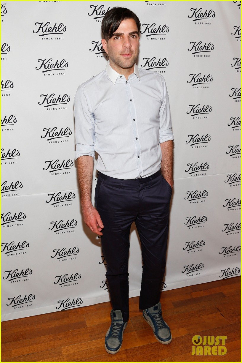 zachary quinto annasophia robb kiehls environmental launch 212852571