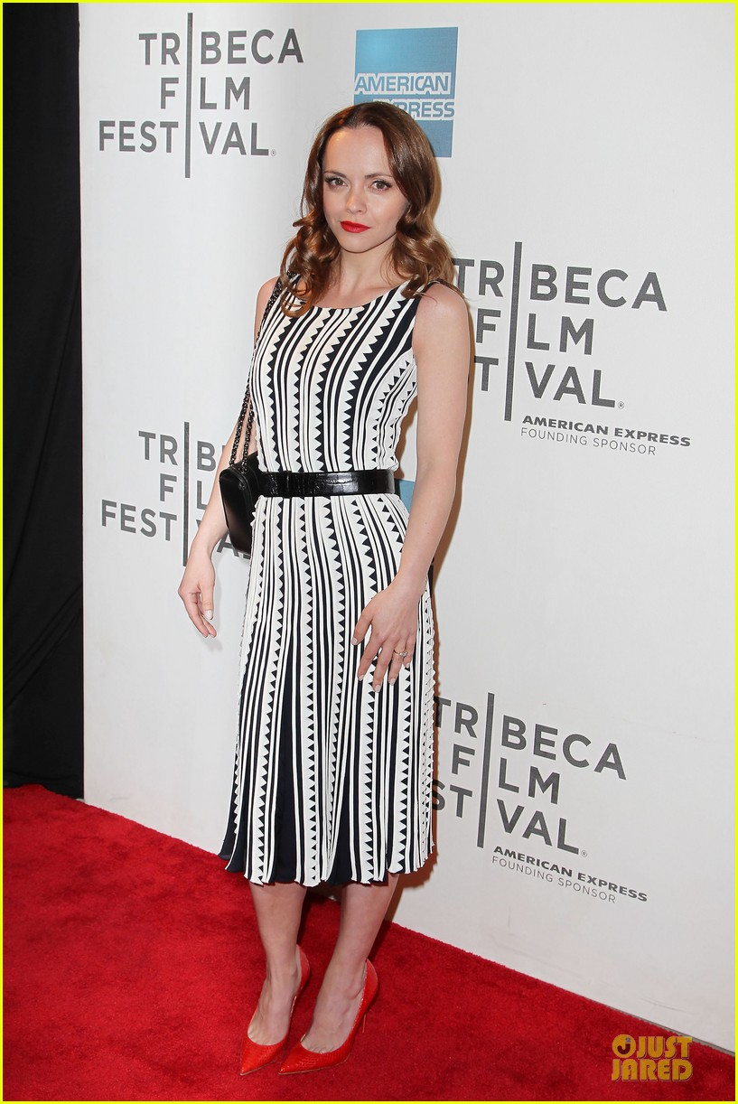 christina ricci the smurfs tribeca screening 012859390