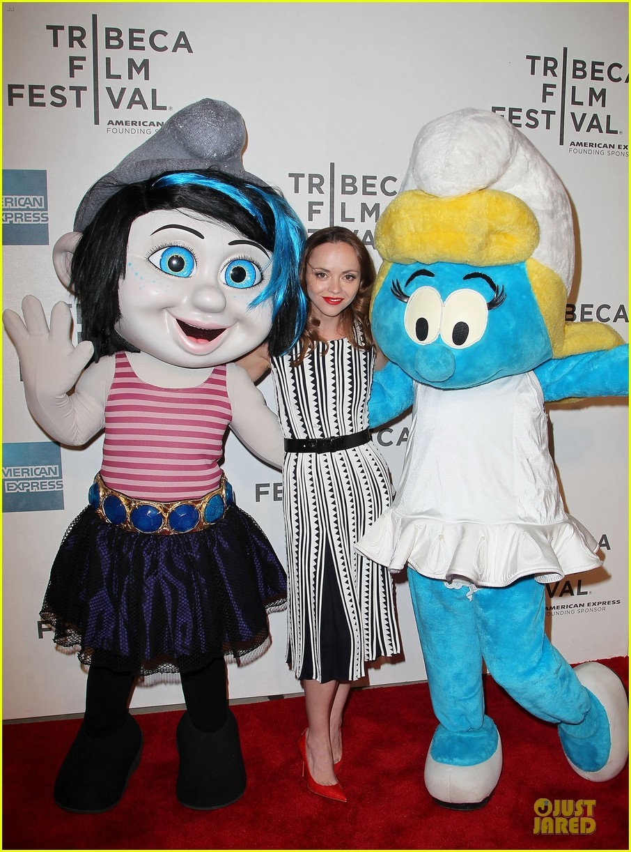 christina ricci the smurfs tribeca screening 18