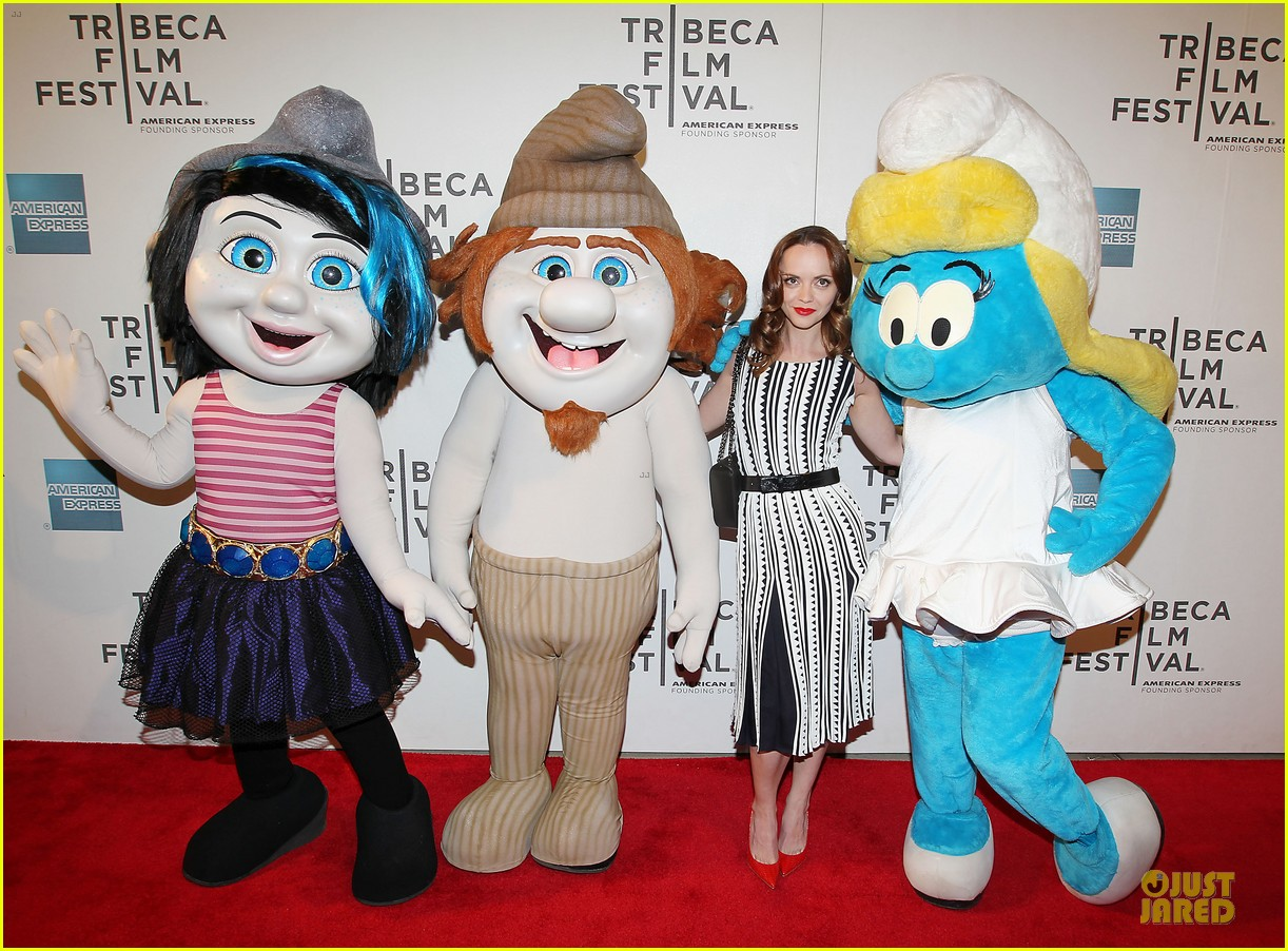 christina ricci the smurfs tribeca screening 252859414