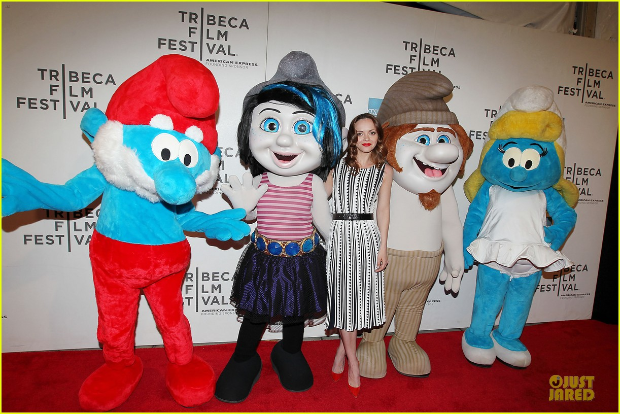 christina ricci the smurfs tribeca screening 282859417