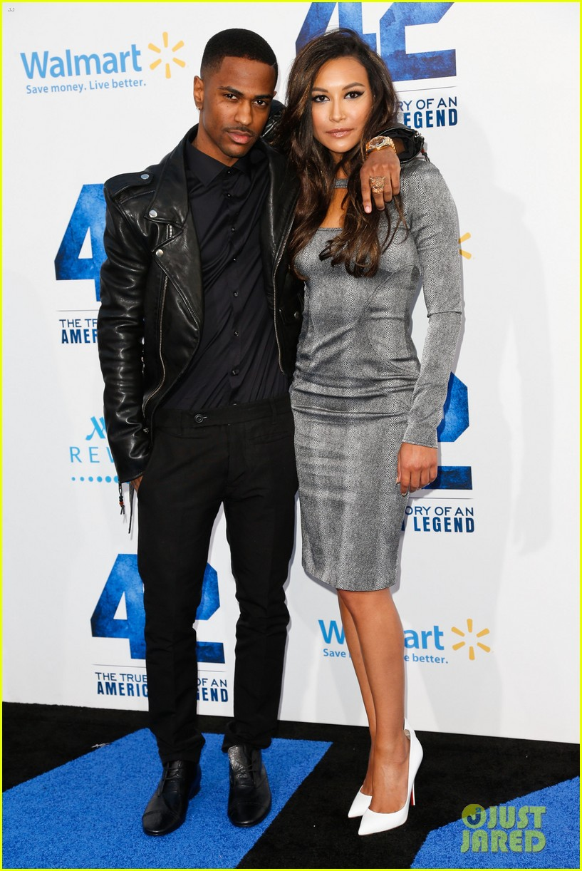 naya rivera big sean red new couple alert 052846680