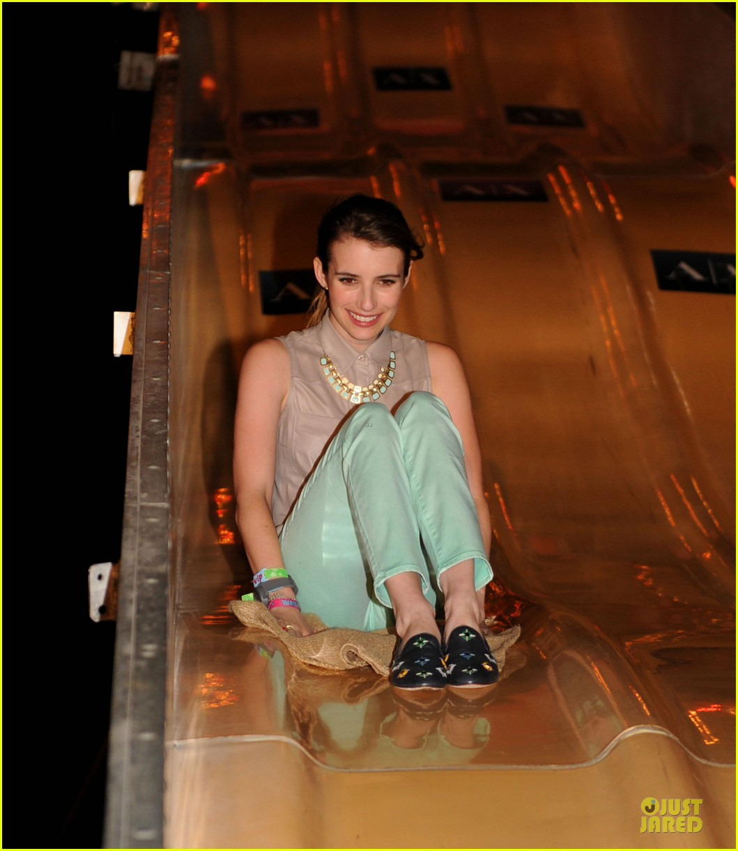 emma roberts neon carnival slide rider 022849677