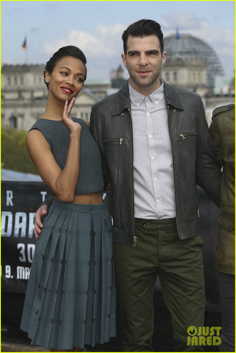 Zoe Saldana And Chris Pine Pin by Jillana Jones o...