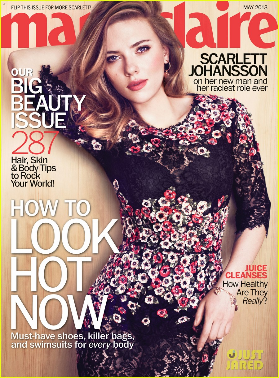 scarlett johansson covers marie claire may 2013 02