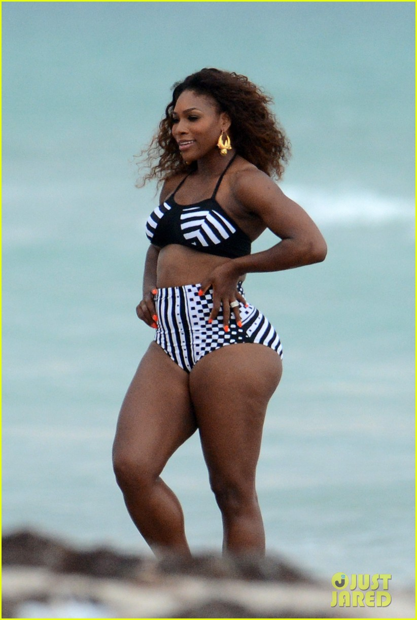 serena williams bikini beach photo shoot 10