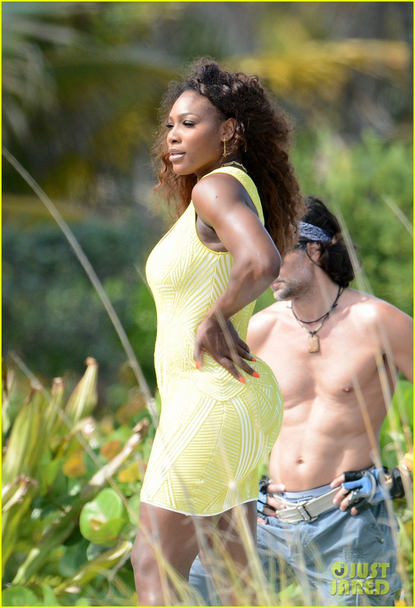 serena williams bikini beach photo shoot 322851355