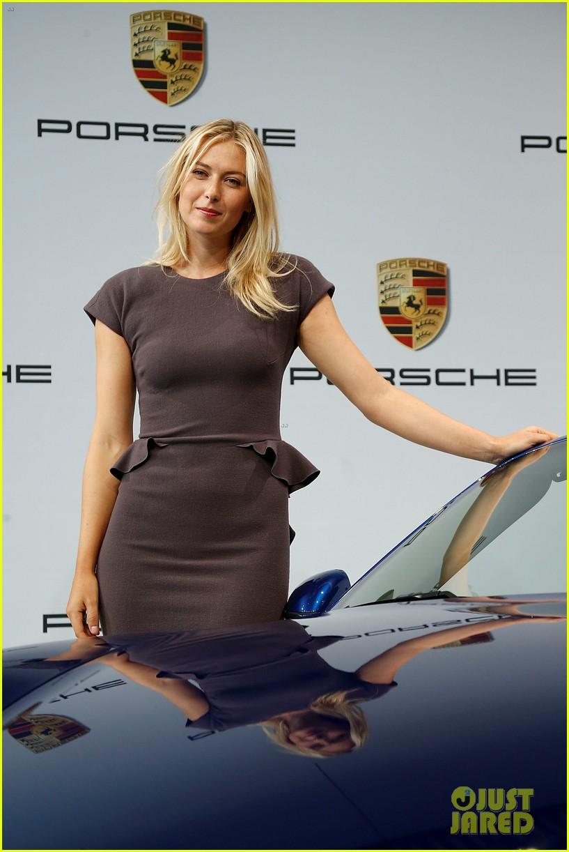 maria sharapova porsche new brand ambassador 072855782