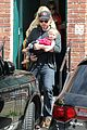 jessica simpson baby bumpin office stop with family 13