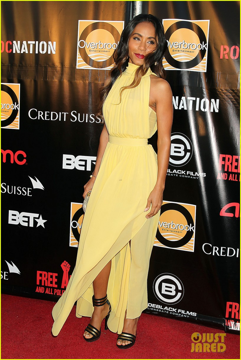 will jada pinkett smith free angela nyc premiere 13
