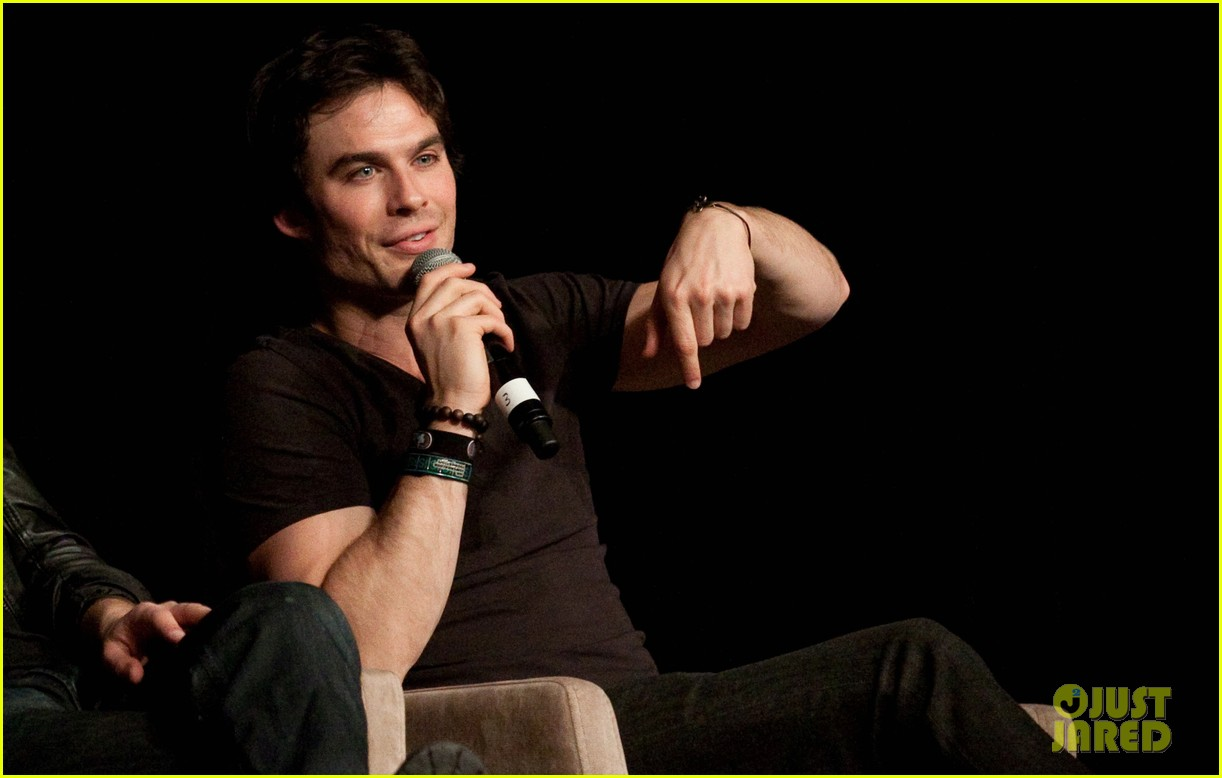 ian somerhalder paul wesley vampire diaries fan convention 01