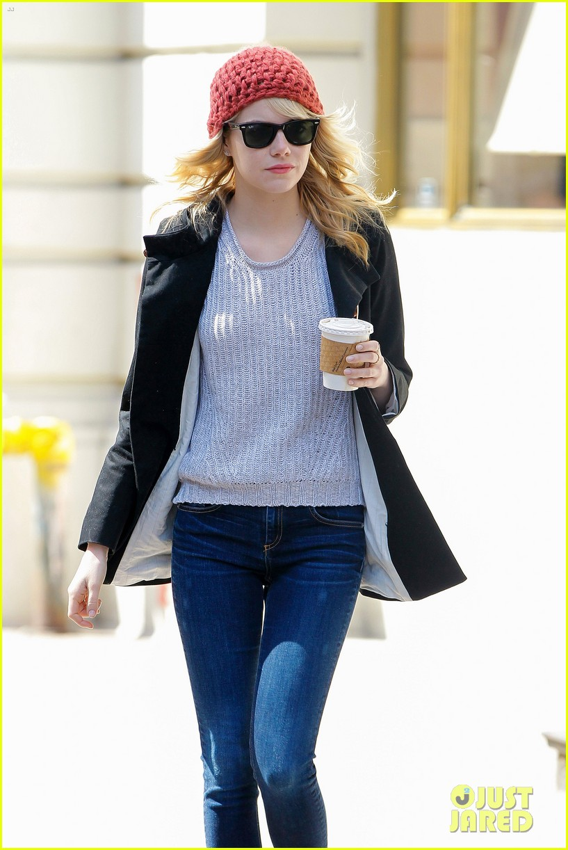 emma stone andrew garfield bubbys coffee couple 07