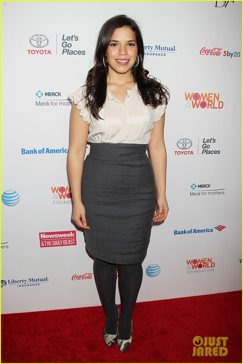meryl streep america ferrera women in the world gala 112843429