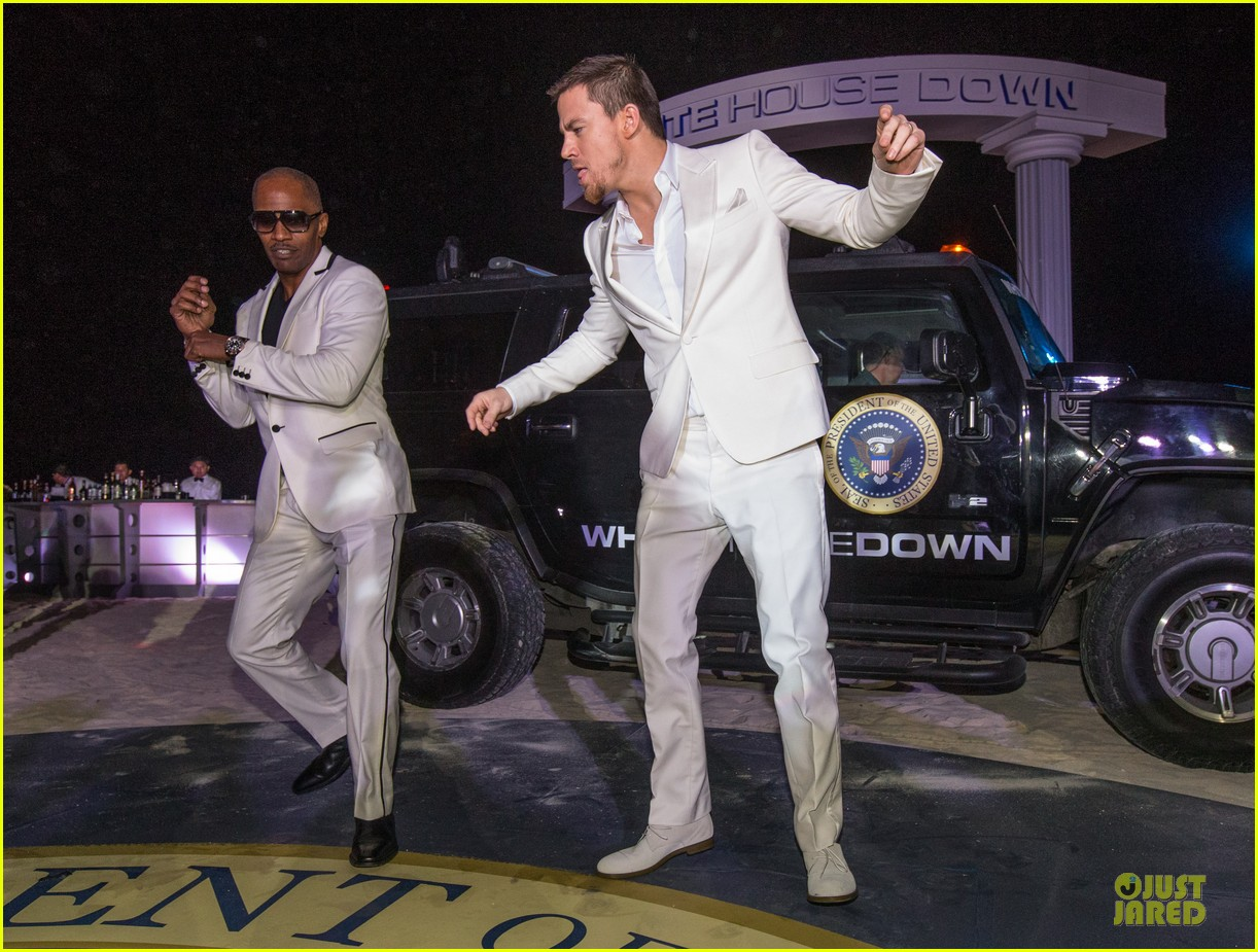 channing tatum jame foxx white house down mexico photo call 12