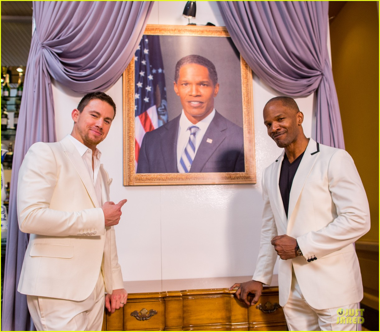 channing tatum jame foxx white house down mexico photo call 15