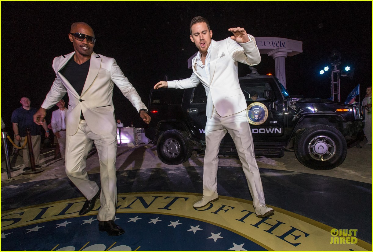channing tatum jame foxx white house down mexico photo call 16