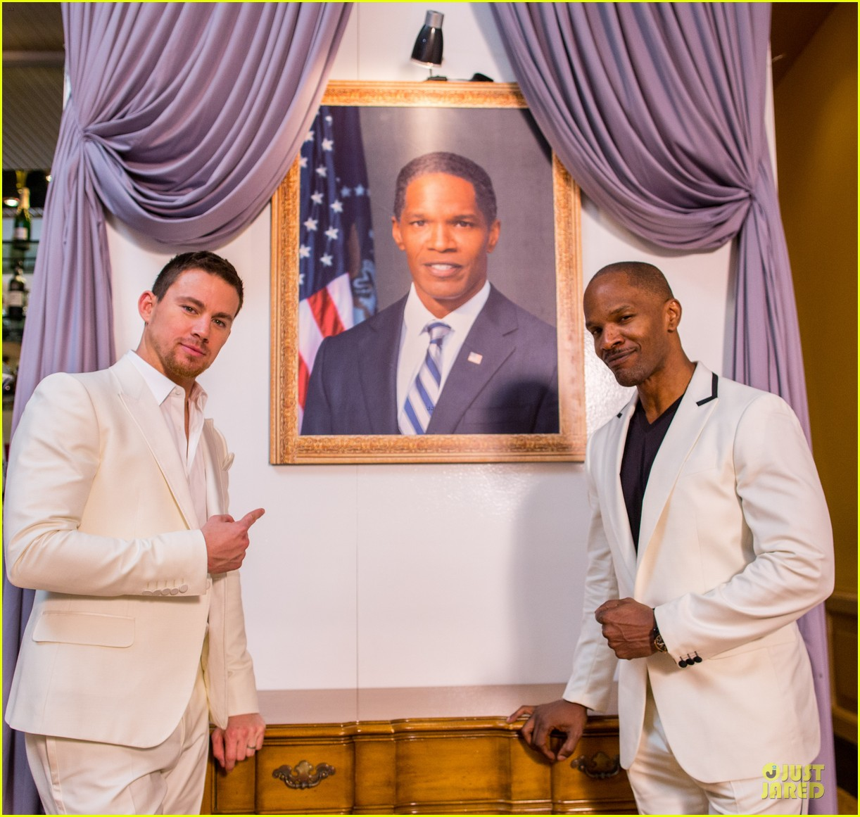 channing tatum jame foxx white house down mexico photo call 25