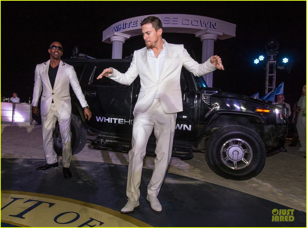 channing tatum jame foxx white house down mexico photo call 29