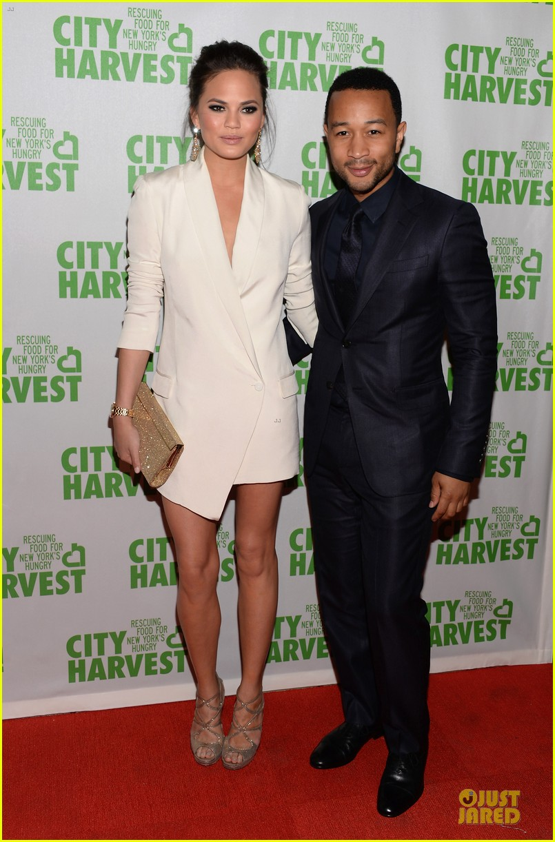chrissy teigen john legend city harvest couple 032851632