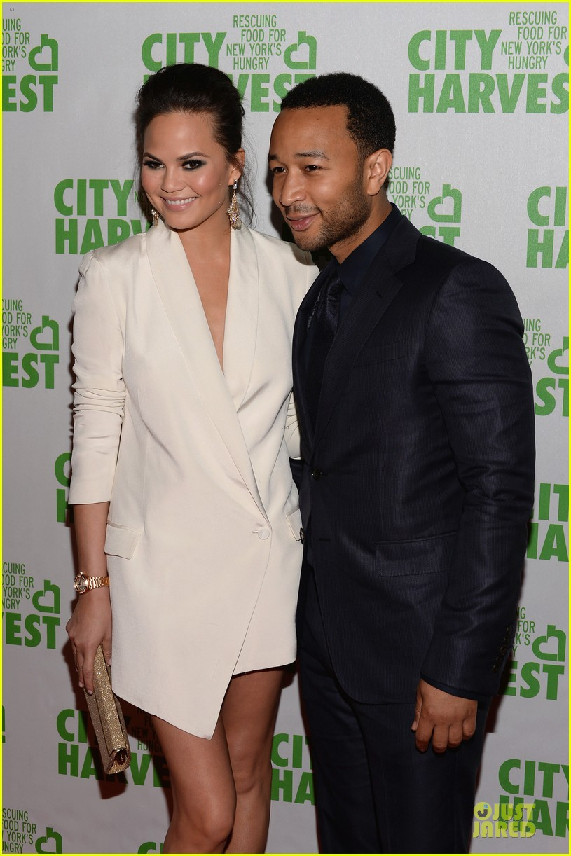 chrissy teigen john legend city harvest couple 102851639