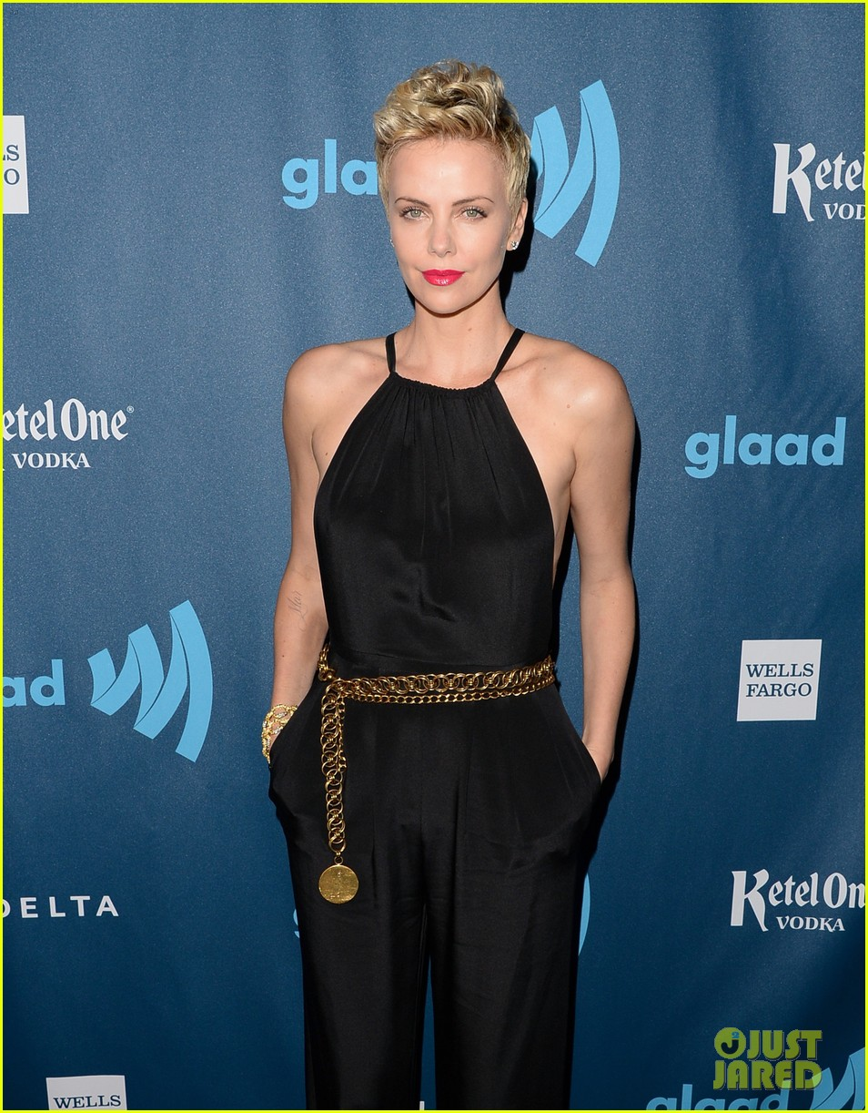 charlize theron glaad media awards 2013 red carpet 032854462