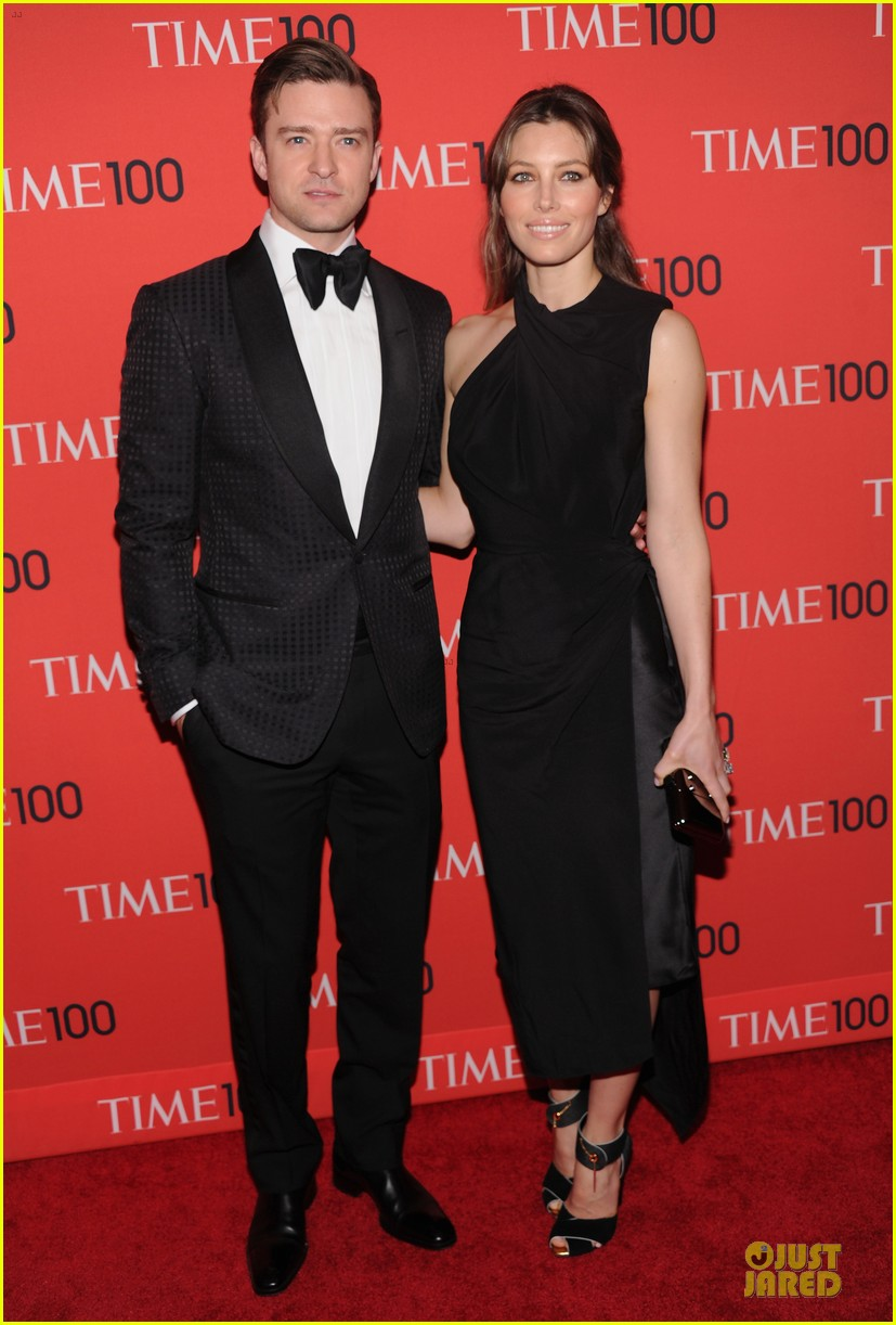 justin timberlake jessica biel time 100 gala 2013 red carpet 05