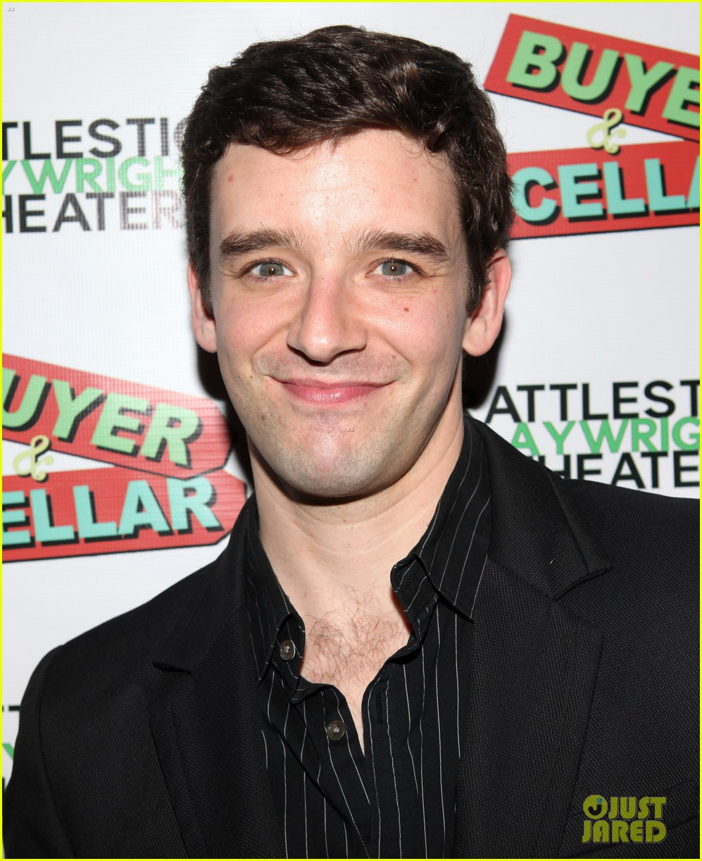 michael urie buyer cellar off broadway opening night 062843099