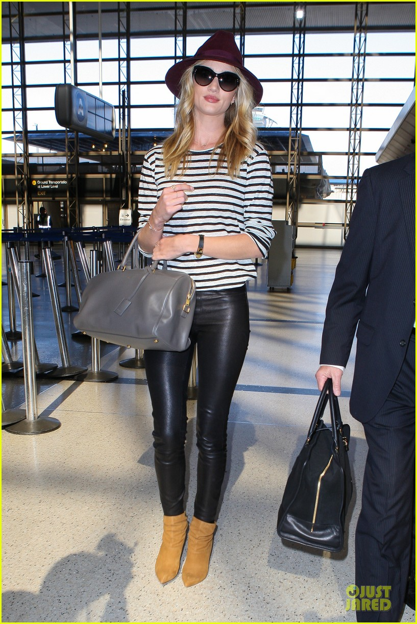 rosie huntington whiteley lax arrival after new orleans trip 17