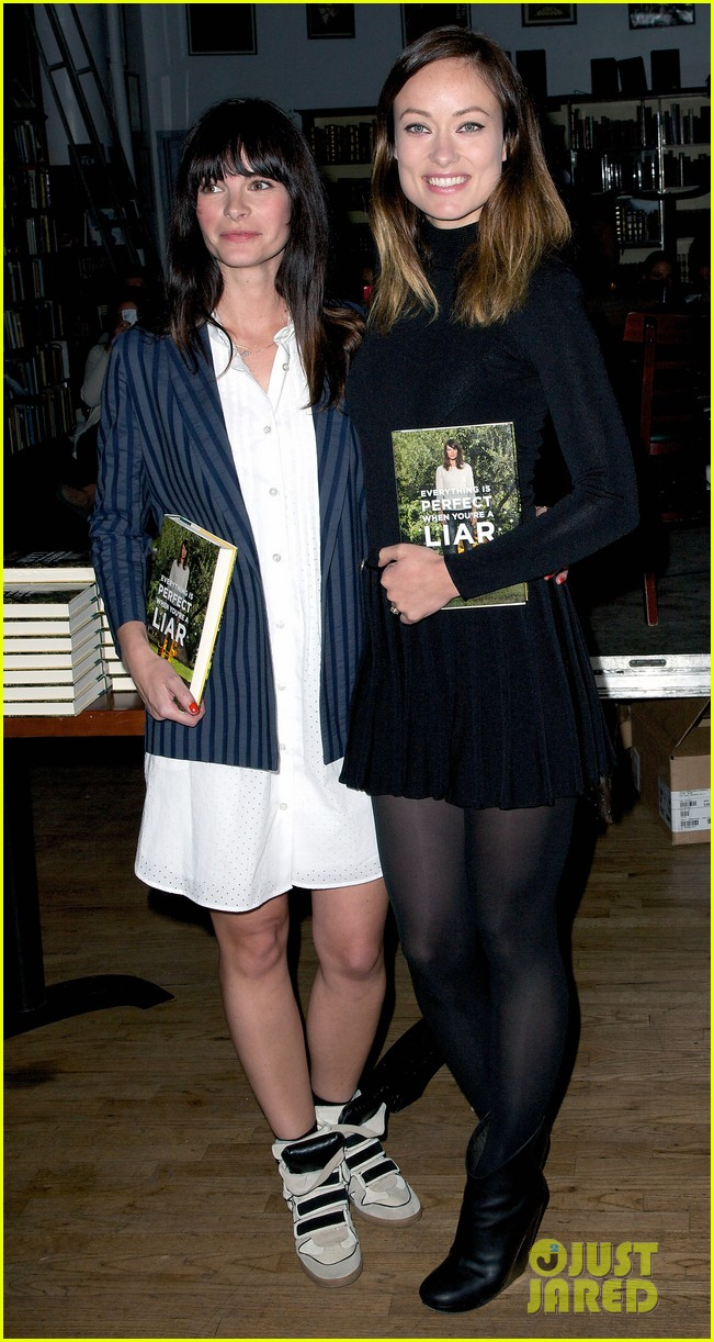 olivia wilde jason sudeikis everything is perfect book launch 072841997