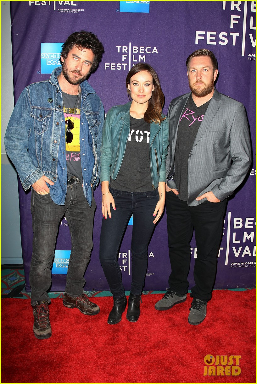 olivia wilde rider and the storm screening at tribeca 03