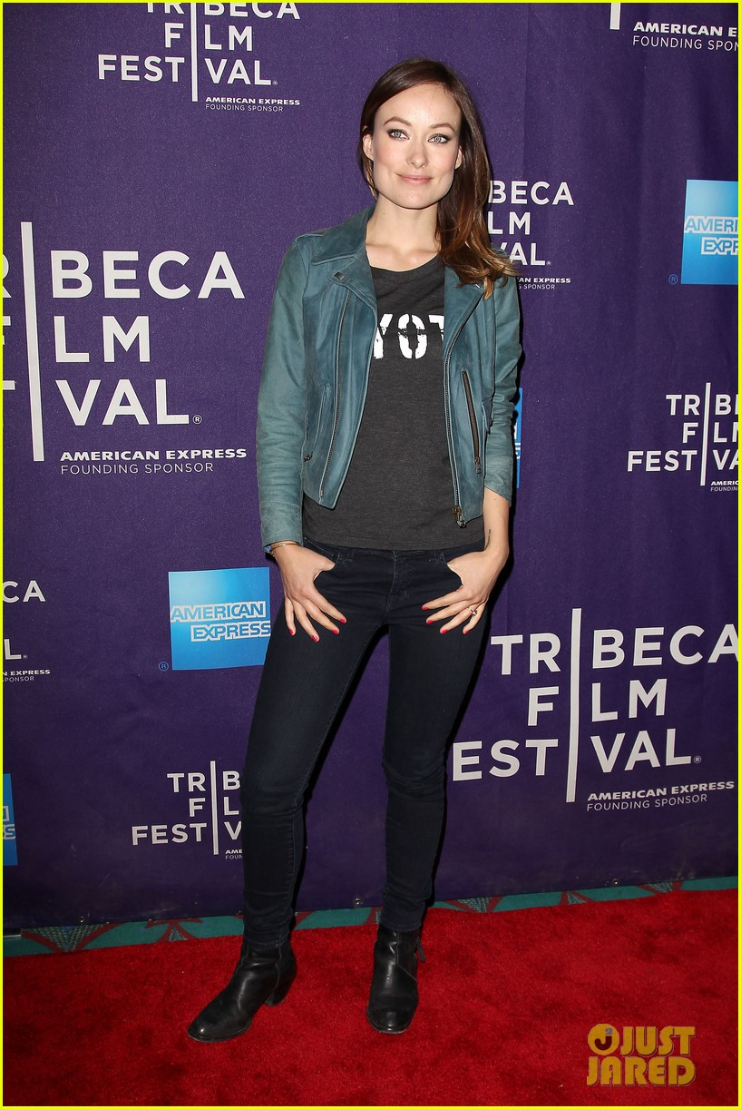 olivia wilde rider and the storm screening at tribeca 27