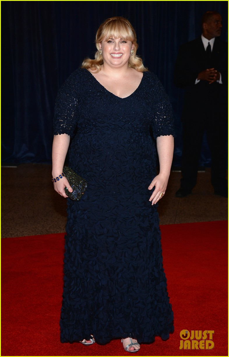 rebel wilson white house correspondents dinner 2013 012859587