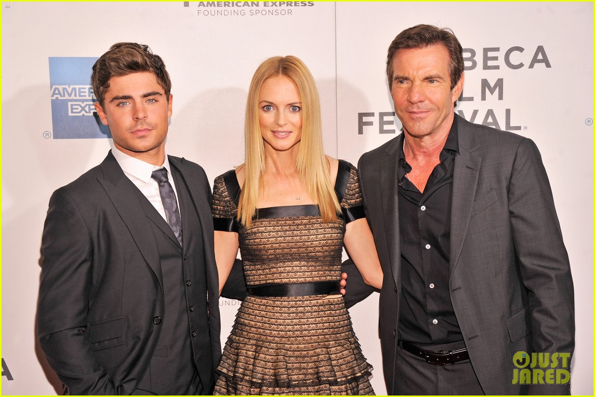 zac efron heather graham at any price premiere 18